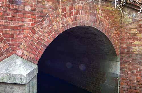 千貫樋 アーチの構造