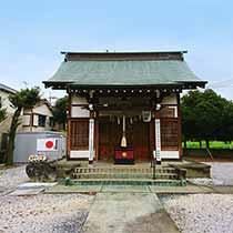下大久保 諏訪社の拝殿です。